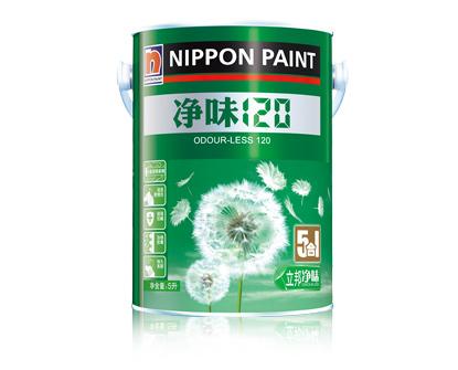 立邦净味120 5合1内墙乳胶漆5L