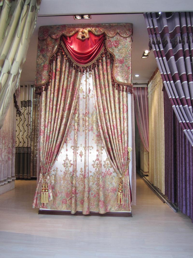 布之艺品牌刺绣窗帘