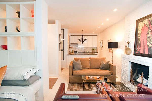 40平单身小居 暖色点缀的温馨空间