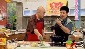 腊牛肉炒豇豆