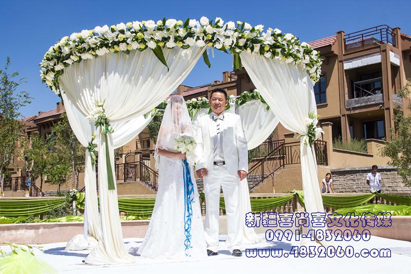 [新疆喜尚喜婚庆鲜花礼仪]新疆喜尚喜婚宴场地6600鲜花布置套餐优惠券