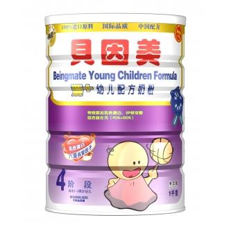 贝因美 1000g爱+4段幼儿配方奶粉