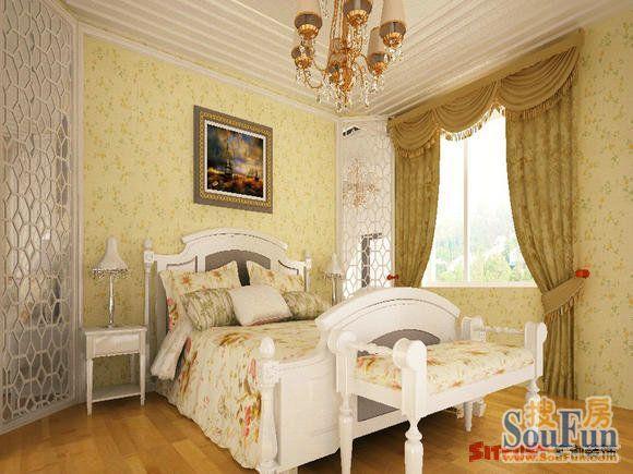孔雀城-三居室-180㎡-装修案例