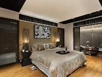 现代中式卧室