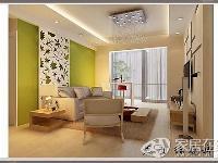 现代简约风格功能两居室案例