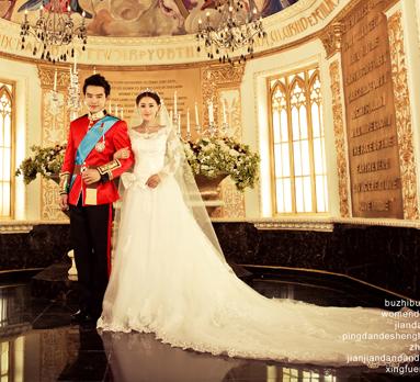 1/10欧式教堂 皇室婚礼