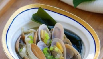 蛤蜊汤-减肥人士不可错过的鲜味汤