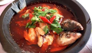 石锅胖头鱼