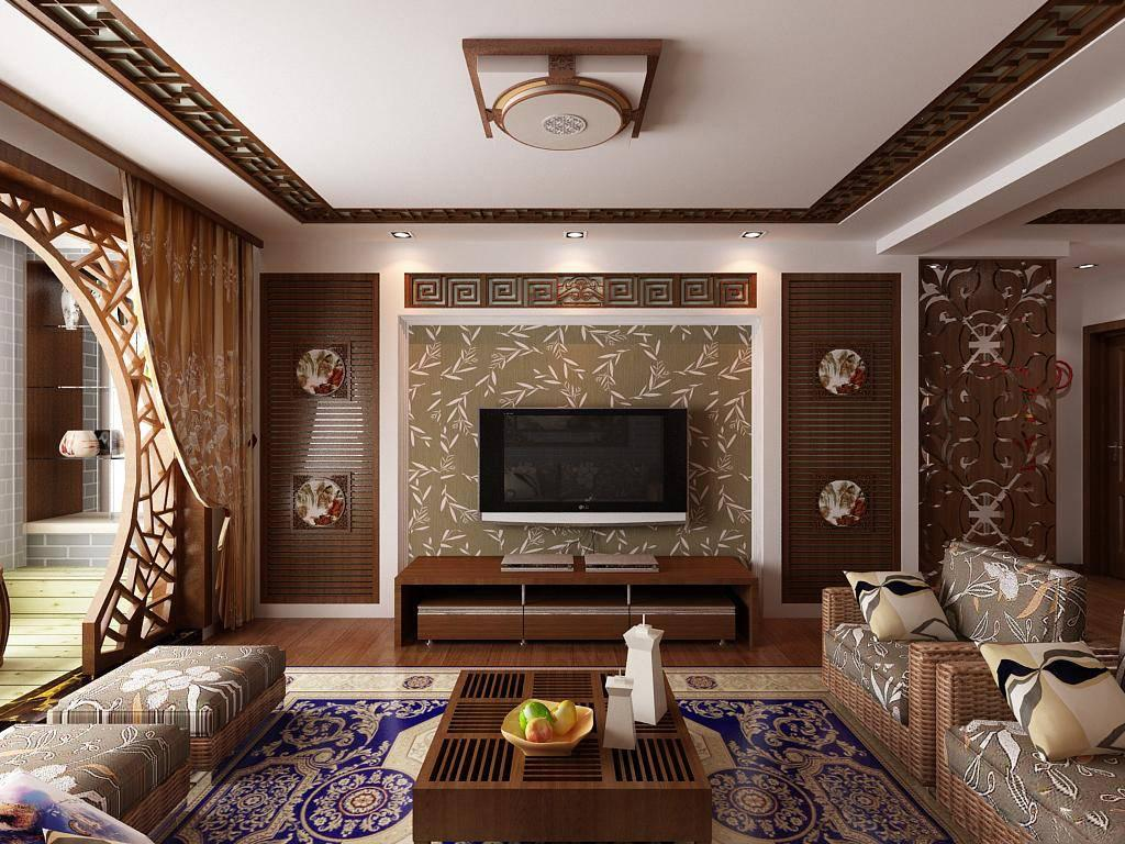 现代中式风格是用简约的笔触构筑了空间的筋骨,其中细节赋予中式元素,看似简单平静的现代简约装饰中却蕴藏着典型的中式风格。中式装饰风格的别墅住宅中,可以大面积使用留白的手法,再点缀气宇不凡的雕花花片,或中式花格,或摆放精湛的中式手艺品,中式宫灯,中式瓷灯,古