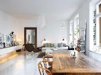 北欧风格清新白领公寓 书香满溢