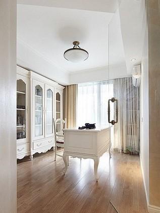 白色时尚装修 10万半包新古典三居
