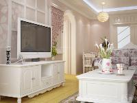 87平米三居室诠释浪漫韩式风格