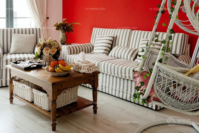 浪漫满屋的韩式风格二居室装修