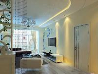 6万打造100平时尚美观且温馨实用的现代简约风格两居