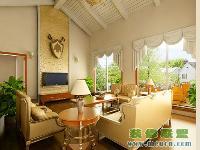 田园式客厅