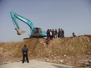 挖掘机操作课
