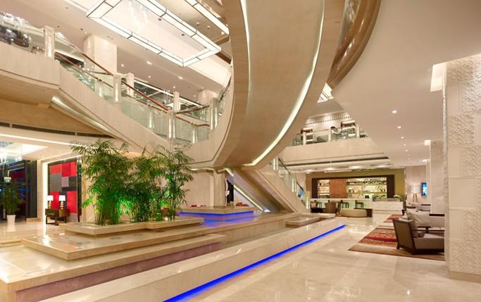 欧式酒店大堂楼梯