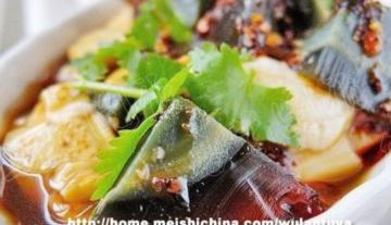 凉拌菜-皮蛋拌豆腐