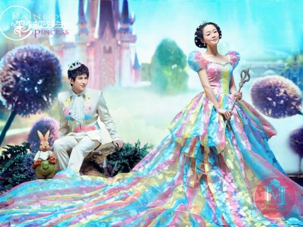 蒙娜��莎 彩虹公主系列