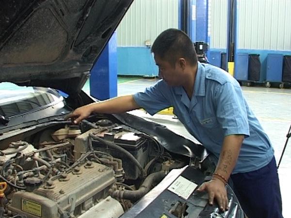 宿州淮北汽车修理厂高清图片
