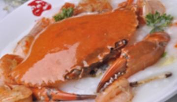膏蟹基围虾粥