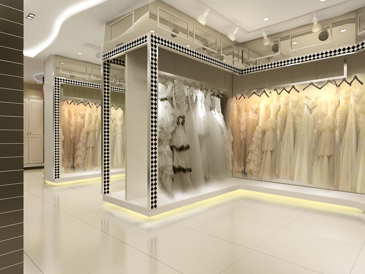 (740x493) 欧式婚纱店图片 – 设计本装修效果图 (1100x825)