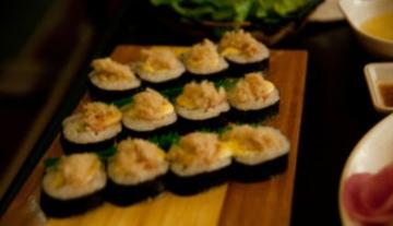 韩城烧烤,韩国料理,韩国拌饭,紫菜包饭