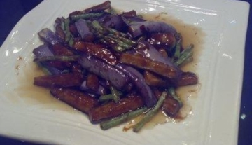 湘菜茄子炒豆角