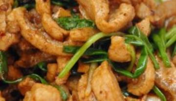 美食菜谱之香辣猪板筋