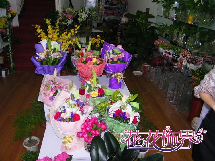 鲜花花束,开业花篮,商务台花,会场布置或是独特的婚礼策划,与花有关的
