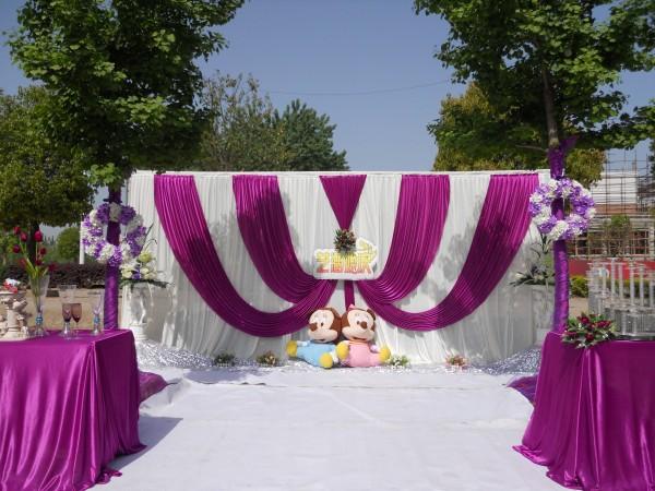 锦绣园酒店 花园婚礼