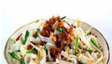 漳州特色炒粿条小吃