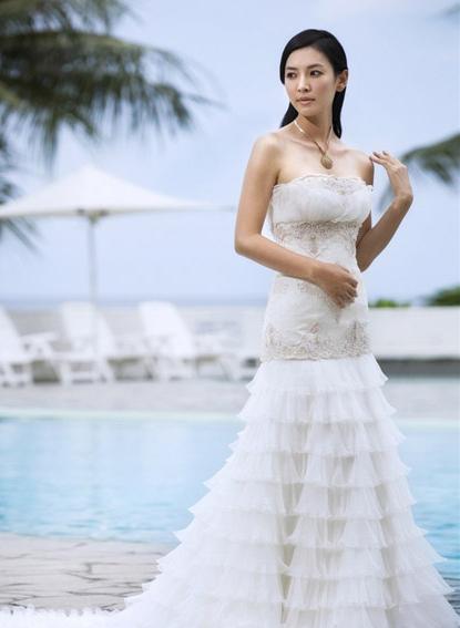 金素妍奢华婚纱写真