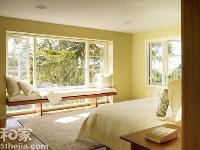倚靠温柔 卧室飘窗改造范例