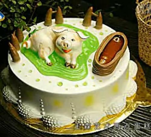 生肖蛋糕制作