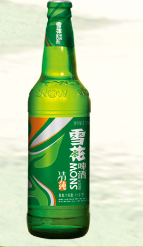 雪花清纯啤酒