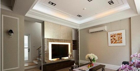欧式客厅电视背景墙 时尚设计案例