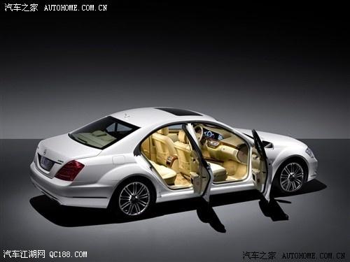奔驰S500豪华版