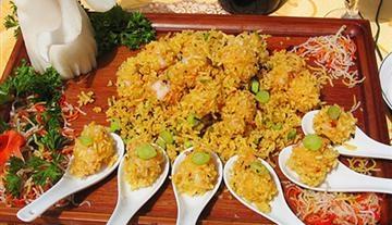 泰米榄菜虾球