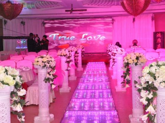 LED婚礼现场