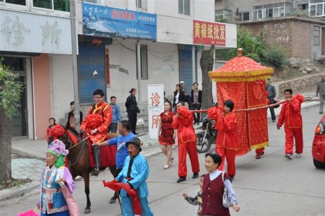 中式花轿婚礼