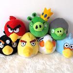 愤怒的小鸟毛绒玩具――免费抽奖