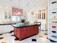 新年好彩头 10款红色厨房装修