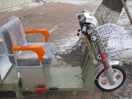 新款高配电动三轮车