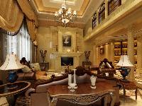 暖色为主的客厅装饰