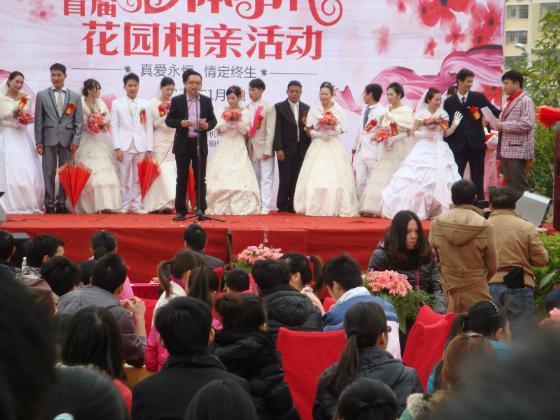 2013集体婚礼活动圆满成功