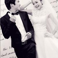 分享下刚拿到的婚纱照