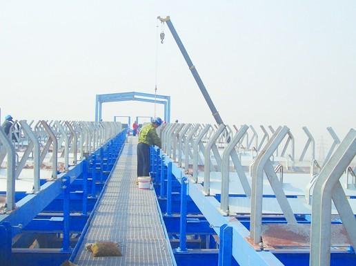 南京惠宁码头安装现场