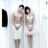 重口味创意裸体婚纱照 标新立异
