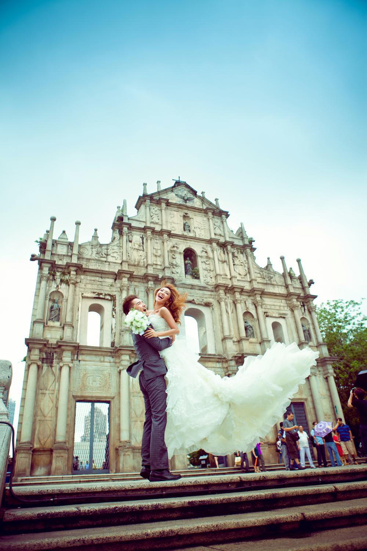 澳门蜜月婚纱摄影